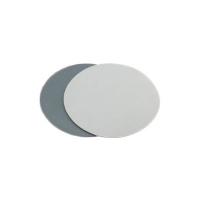 Заплатка из ПВХ диаметром 10 см, светло-серая