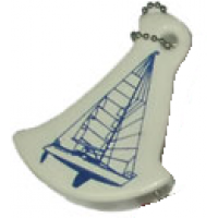 "Брелок плавающий ""Яхта"", белый"