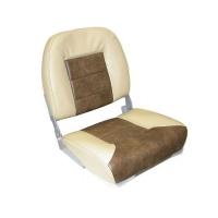 Сиденье Premium low back, песочное/коричневое