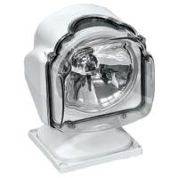 (а) Прожектор стационарный галогеновый проводной пульт ДУ, серия 971, белый