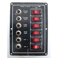 Панель выключателей с предохранителями, 6 клавиш