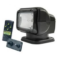 """Прожектор стационарный с двойным управлением """"Golight"""" в черном корпусе"""
