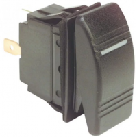 Клавишный выключатель «Marina 2», трехпозиционный, 6 контактов, без двойных светодиодов.
