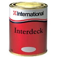 Палубная краска «INTERDECK», 750 мл, серая