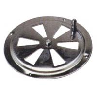 Вентиляционная решетка круглая 128 мм х 1мм