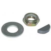 Комплект крепления рулевого колеса (механика), гайка, шпонка, шайба