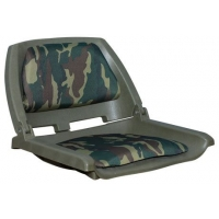 Сиденье с виниловыми подушками, камуфляж