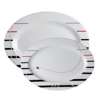 Овальные тарелки «Cannes», 30х20, 36х25 см