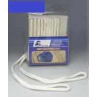Плетеный шкерт для кранцев, 6,4 мм x 1,8 м, синий