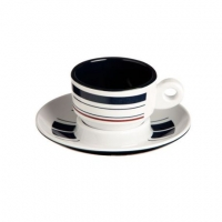 "Чашка для эспрессо с блюдцем ""Monaco"", 7,8х7,2 см, 6 шт"