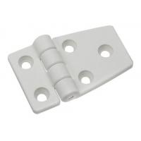 Петля пластиковая разновеликая 57х35 мм, белая