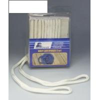 Плетеный шкерт для кранцев, 9,5 мм x 1,8 м, белый