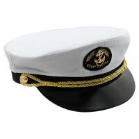 Капитанка Якорь широкий шнур без вышивки