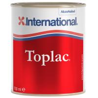 Силикон-алкидная эмаль «TOPLAC» темно-бордовый (350), 0,75 л.