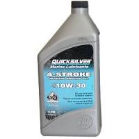 Минеральное масло Quicksilver 10W-30 для 4-тактных подвесных моторов