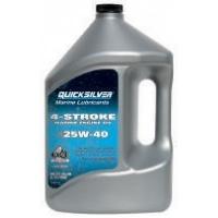 Минеральное масло Quicksilver 25W-40 для бензиновых двигателей MerCruiser
