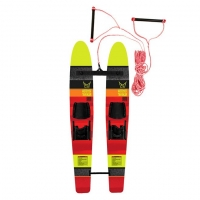 Детские парные лыжи Hot Shot Trainers