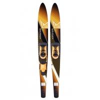 Парные лыжи Burner 67, крепления Blaze