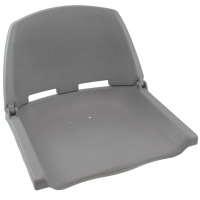 Сиденье пластмассовое складное серое C12503-G