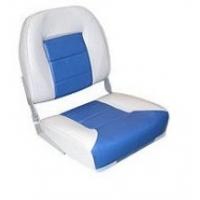 Сиденье Premium low back, серое/синее